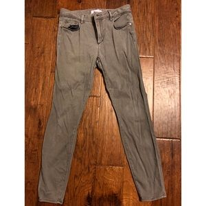 Gray Slim Fit Jeans